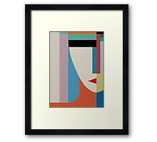 ABSOLUTE FACE Framed Print