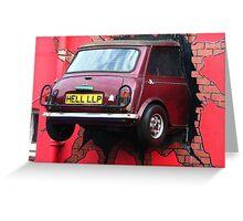 Stunt Driver - The Italian Job !!!!! Greeting Card