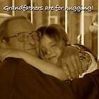 Hugging Grandpa by newbeltane