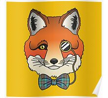 Dapper Fox Poster
