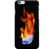 Diamond on Fire iPhone Case/Skin