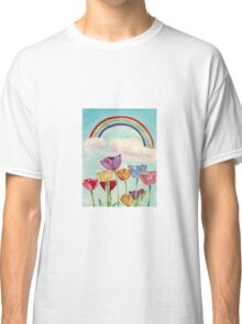 Tulips & Rainbows Classic T-Shirt