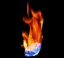 Diamond on Fire by Miyni