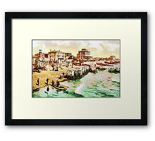 East Parade, Bognor Regis, West Sussex, England circa 1890 Framed Print