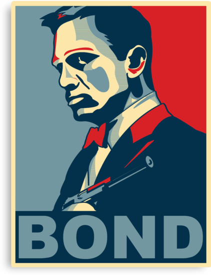 James Bond by Jem Wright