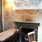 Hearth of the Jerusalem Tavern, London by Alice McMahon