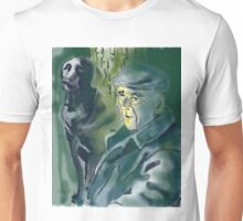 Old and dog Unisex T-Shirt