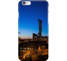 Old and new Manchester iPhone Case/Skin