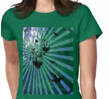 magical places on a tee Womens Fitted T-Shirt
