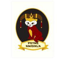 Petme Amidala Art Print