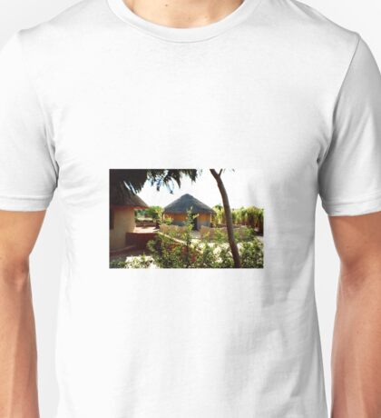 Botswana Traditional Housing Unisex T-Shirt