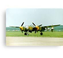 Lockheed P-38J/F-5C Lightning Canvas Print
