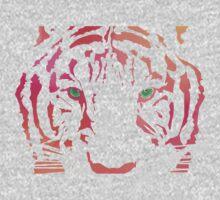 Tiger Tiger Burning Bright One Piece - Short Sleeve