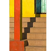 staircase shadow Photographic Print