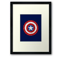 Geometric Captain Framed Print