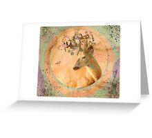 Melody of Spring - Song Forest Spirit  Greeting Card