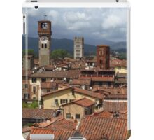 Towers and Roof Tops, Lucca iPad Case/Skin