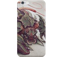 Red Whip Thresher iPhone Case/Skin