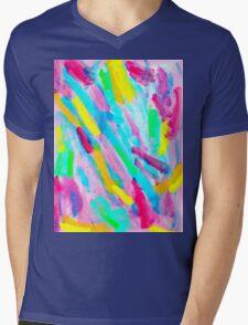 UNIQUENESS BLOOMS Mens V-Neck T-Shirt