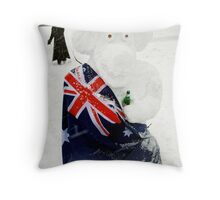 g'day from london Throw Pillow
