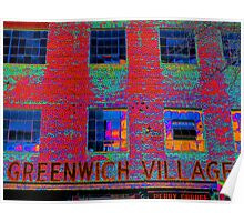 GREENWICH VILLAGE, NYC Poster
