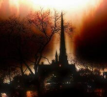 Burning Church by TLWhite