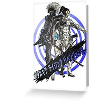 Revengeance 03 Greeting Card
