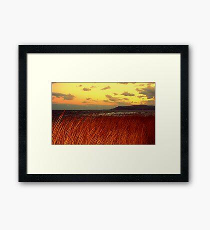 North East Winter Landscape Framed Print