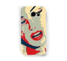 A wise girl kisses Samsung Galaxy Case/Skin