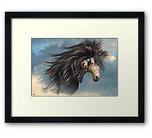 Kiche (Sky Spirit-Cree) Framed Print