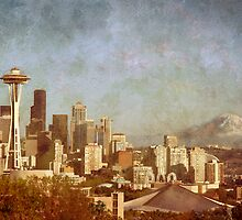 Seattle Skyline by Terry Divyak
