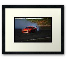 Supra Burnout Framed Print