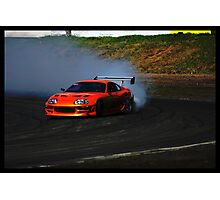 Supra Burnout Photographic Print