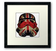 Stormtrooper UK Framed Print