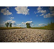 Gravel Road Photographic Print