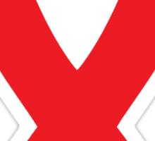 AIDS Awareness Ribbon Sticker