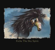 Kiche T-shirt (Sky Spirit - Cree) by Lisa  Weber