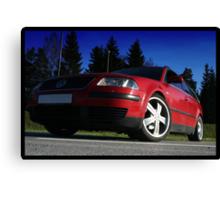 VW Passat Canvas Print