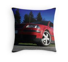 VW Passat Throw Pillow