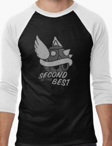 Second Is the Best Men's Baseball ¾ T-Shirt