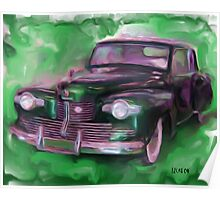 42' Lincoln Continental Poster