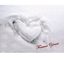 Warm Heart in a Cold Climate Photographic Print