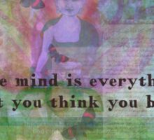 Buddha Quotation Motivational Sticker