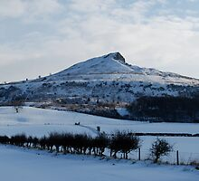 Roseberry Topping in the snow by dougie1