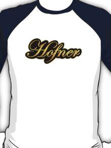 Vintage Gold Hofner Guitars  T-Shirt