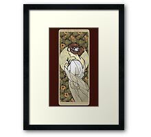 Cinderella Nouveau Old Stories Framed Print