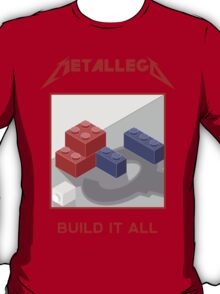 Metallego: Build it All T-Shirt