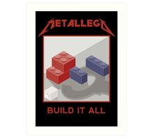 Metallego: Build it All Art Print