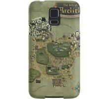 Arelith Map Samsung Galaxy Case/Skin