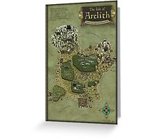 Arelith Map Greeting Card
